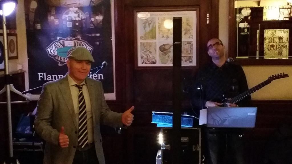 Flann O' Briens pub Rome Italy