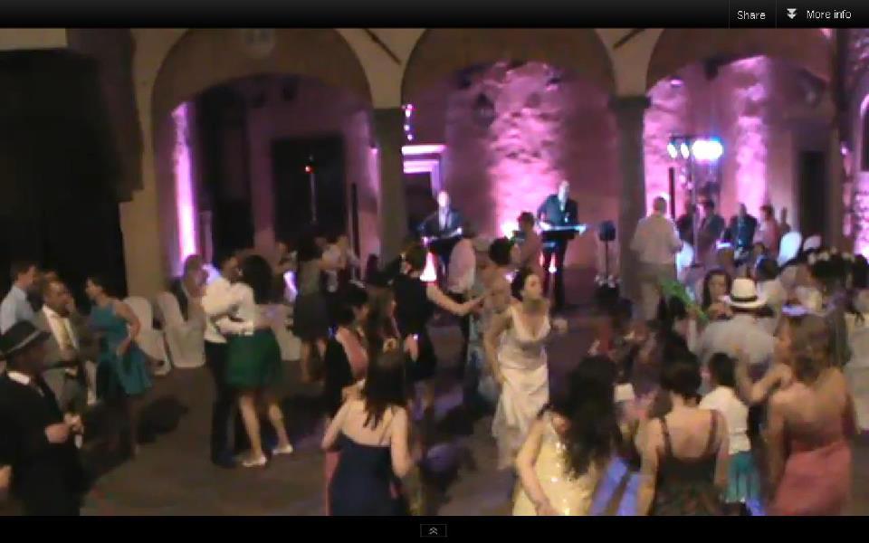 A wedding at Castello il Palagio