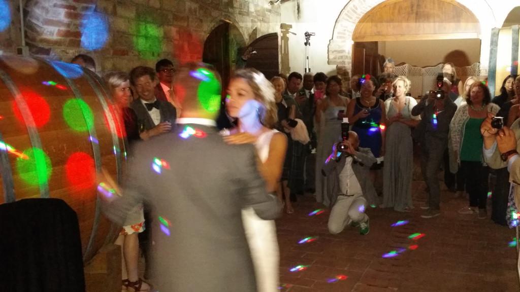 Wedding party at Terre di Nano