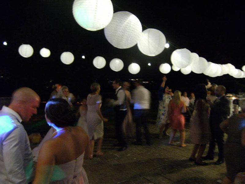 English wedding in Tuscany