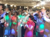 Villa Tuscolana wedding party