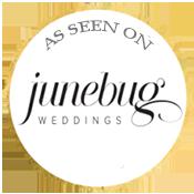 Tuscany wedding band junebug weddings badge