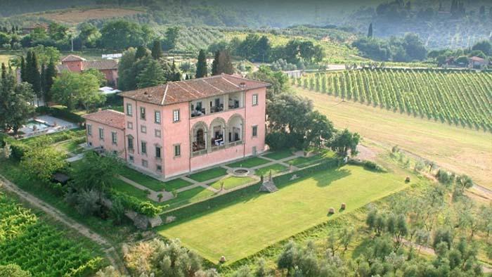 Villa Mangiacane wedding a fairytale wedding in Tuscany 1