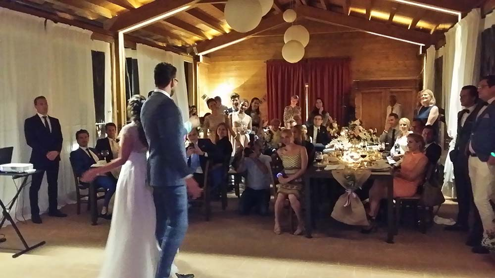 Casa Cornacchi wedding band Tuscany Italy