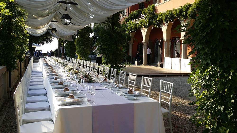 Villa Le Fontanelle wedding band Florence Tuscany Italy
