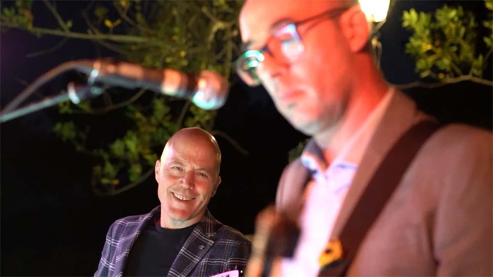 Casa Bruciata wedding band - live music and Dj set service
