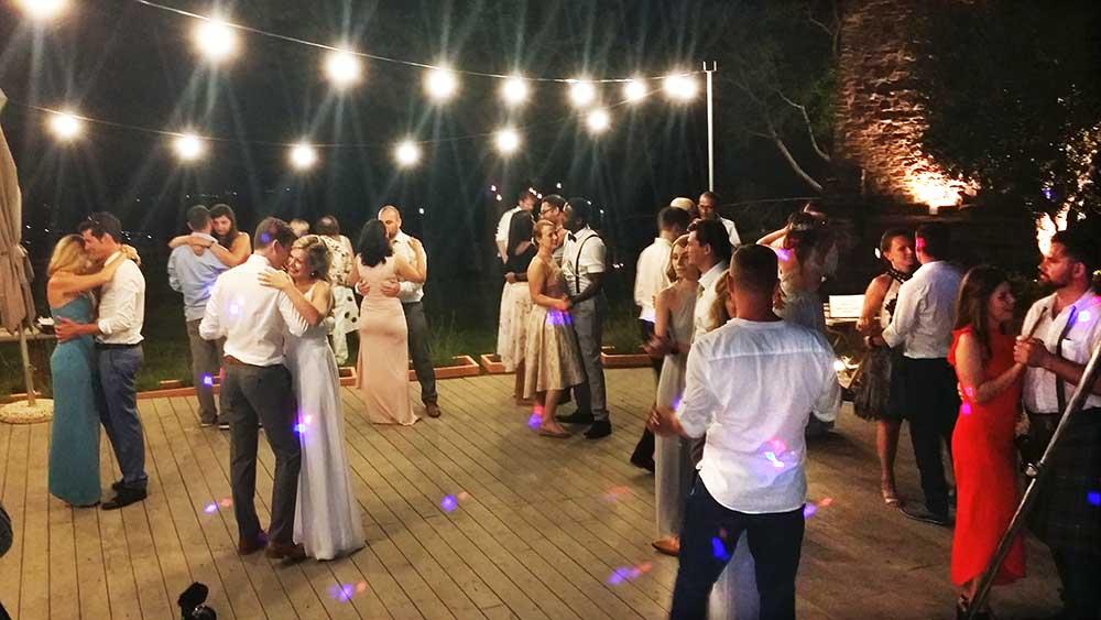 Nikis Resort wedding band Umbria