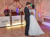 Villa Valentini Bonaparte wedding band Tuscany