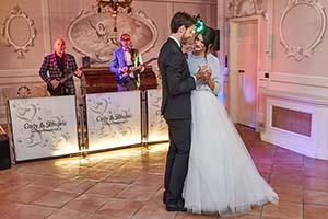 Villa Valentini Bonaparte wedding band Tuscany