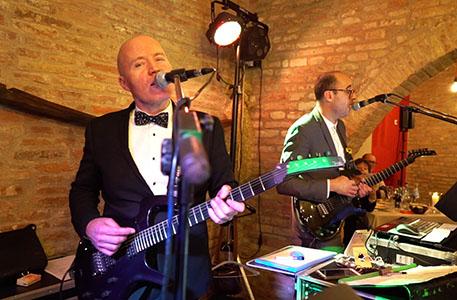 Wedding music band Tuscany Italy - Guty & Simone The Italian wedding musicians
