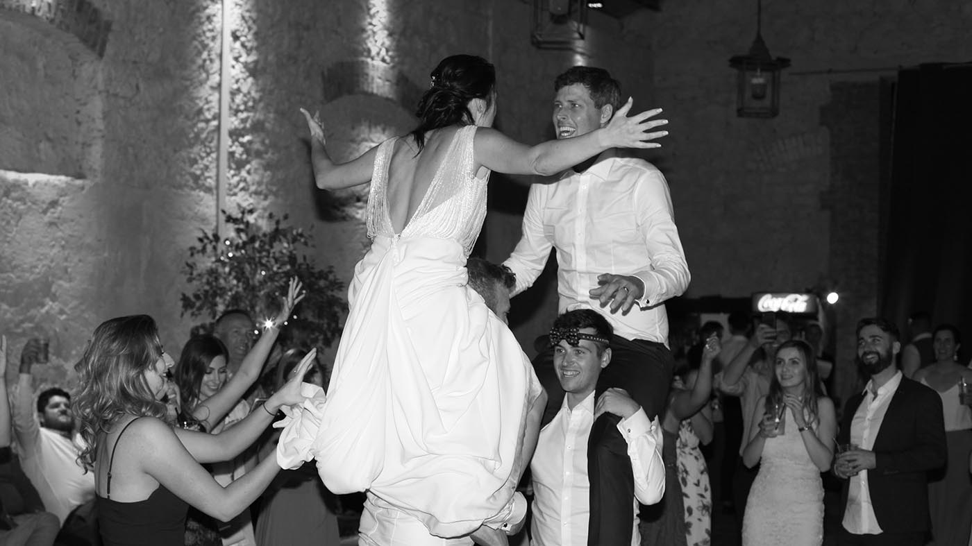 Borgo di Tragliata wedding band in Rome