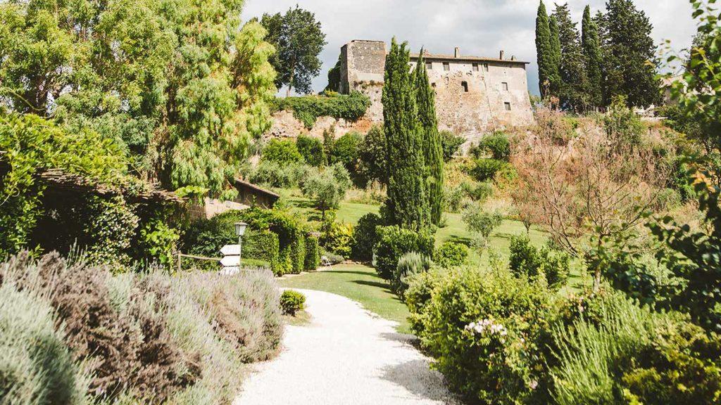 Borgo di Tragliata wedding Rome Italy