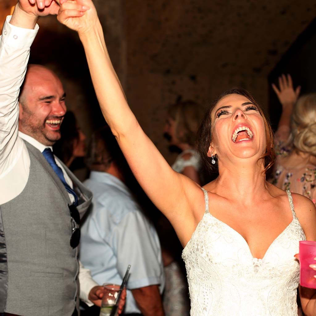 wedding entertainment italy - wedding party music