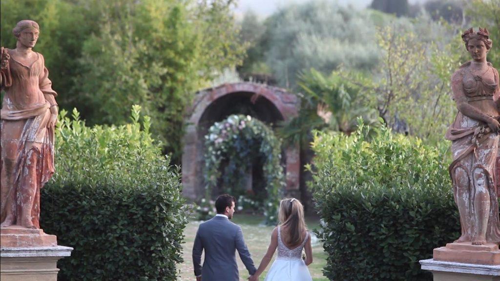 Villa Catignano wedding band, Siena, Tuscany