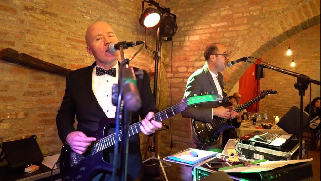 Wedding musicians Tuscany Guty and Simone - wedding music italy