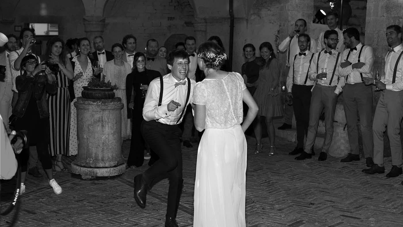 Wedding party band Siena Tuscany Italy