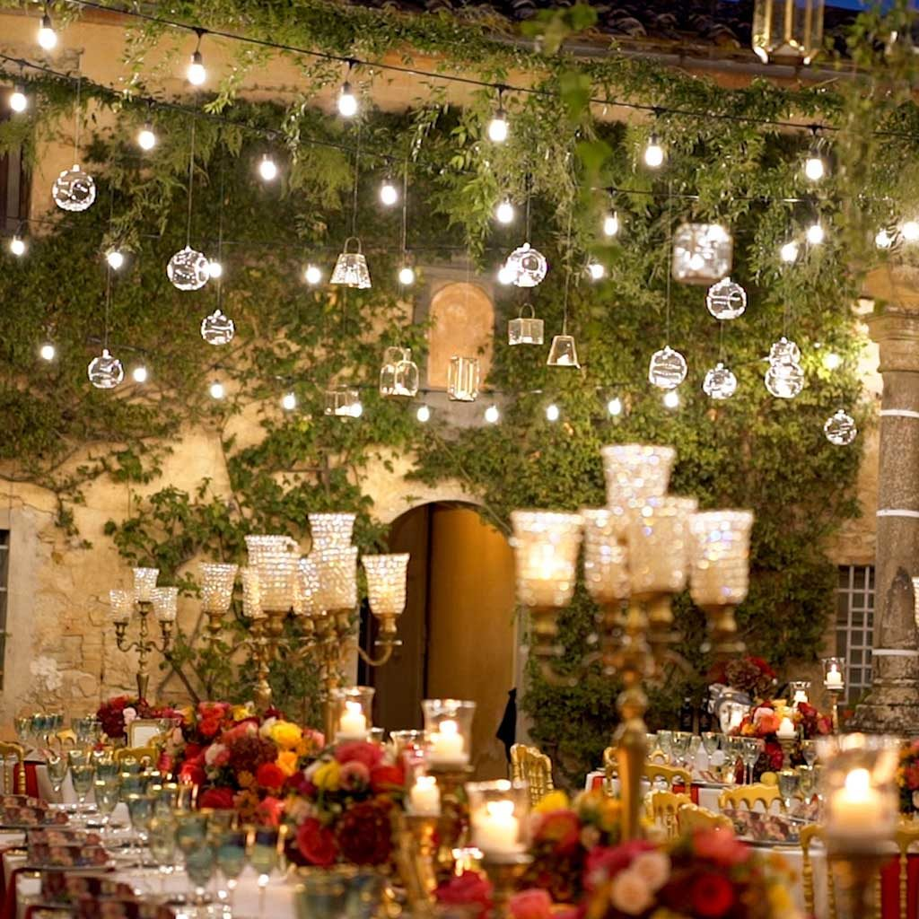 Wedding lights italy extra packages