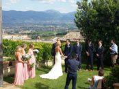 Matrimonio in umbria - Locanda del Teatro, Montefalco, Perugia. Musica dal vivo e Dj set by Guty & Simone
