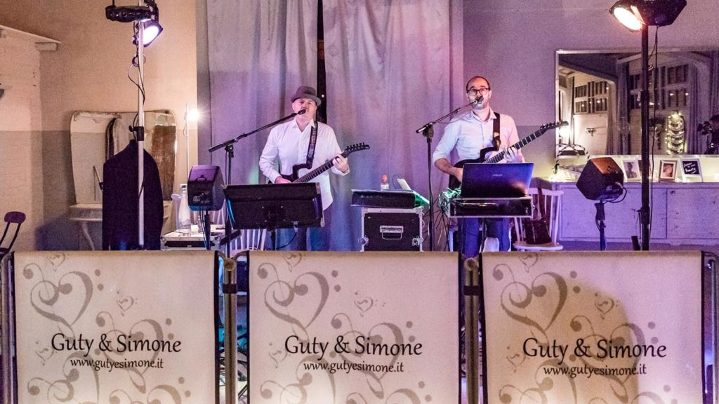 Impianto audio e luci matrimonio - Guty & Simone wedding band